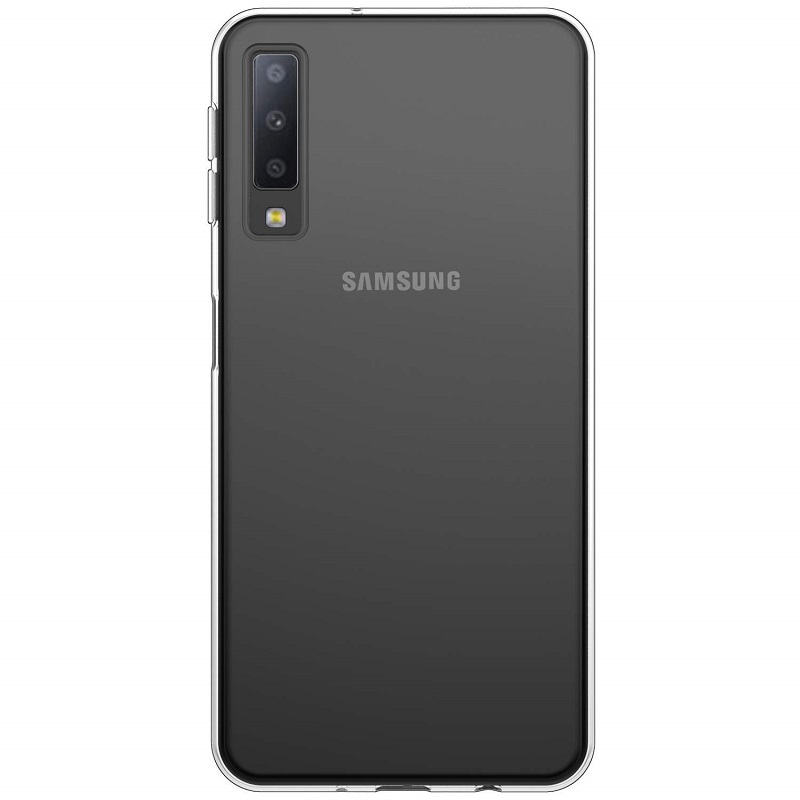 mobiletech-samsung-a7-2018-Silicon-Clear-Cover